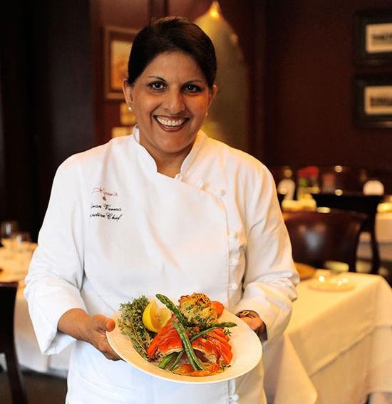 A unique feast at Kiran's. photo credit: kiranshouston.com